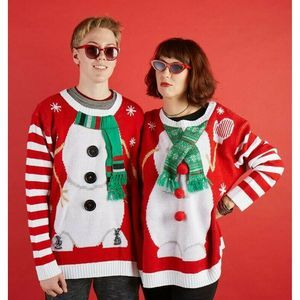Holiday Time Two Person Ugly Christmas Sweater